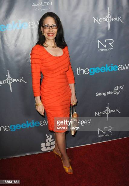 Attorney Vicki Roberts attends The 1st Annual Geekie Awards held at Avalon on August 18 2013 in Hollywood California
