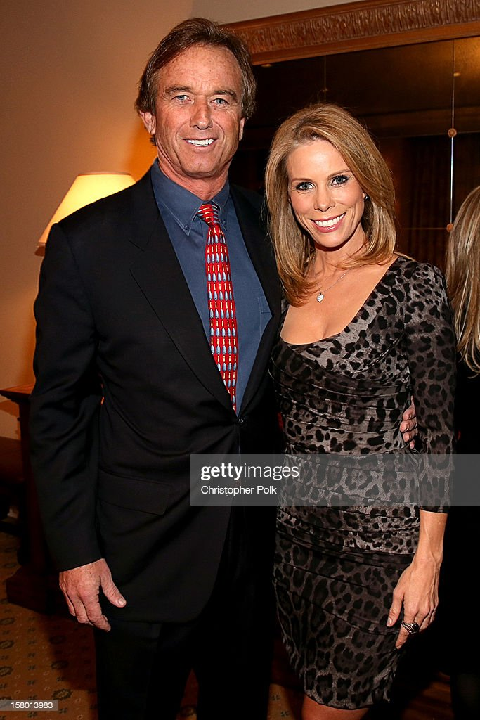 Attorney/Author Robert F. Kennedy Jr. and actress Cheryl Hines attend the Deer Valley Celebrity Skifest at the Montage Deer Valley on December 8, 2012 in Park City, Utah.