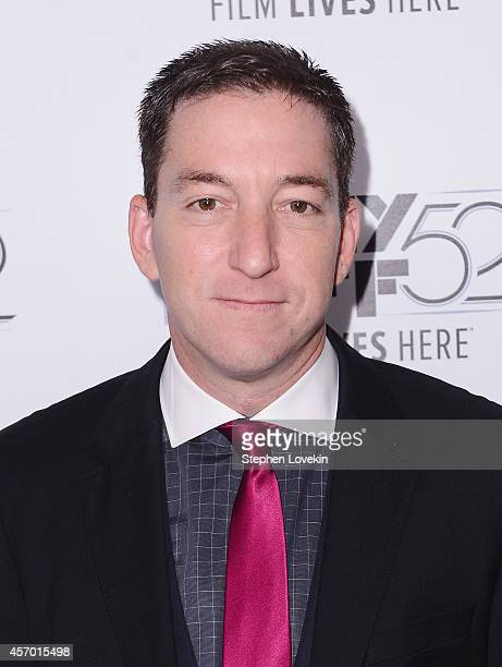 Attorney/author/journalist Glenn Greenwald attends The World Premiere of The Radius/Participant/HBO Documentrary Films Citizen Four at the New York...