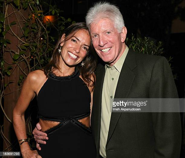 Attorneys Laura Wasser and Dennis Wasser attend Laura Wasser's Book Party on October 8 2013 in West Hollywood California