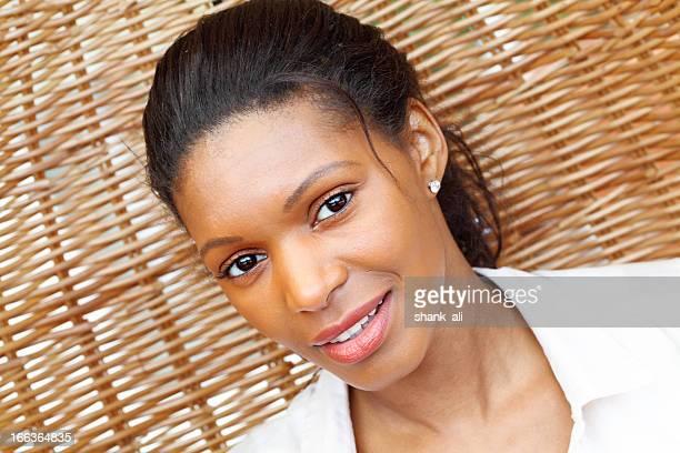 Attractive african decent female