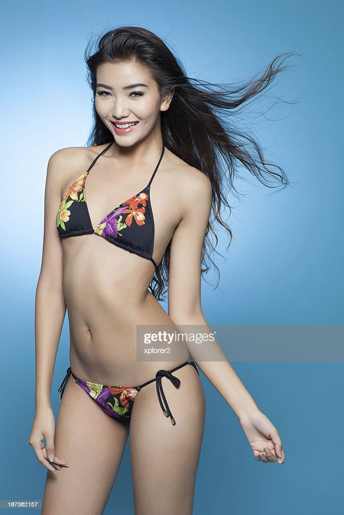 Asian bikini model gallery