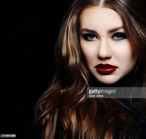 attractive brown hair woman - diva human role stock photos and pictures