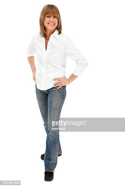 Attractive Casual Mature Woman