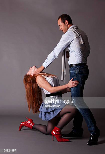 attractive couple - beautiful women bent over stock photos and pictures