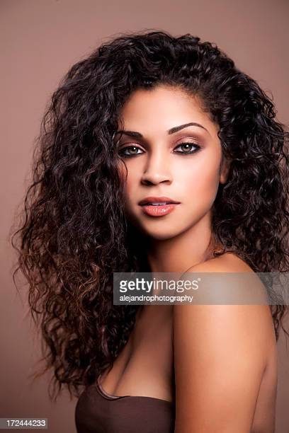 attractive ethnic woman - black women stock photos and pictures