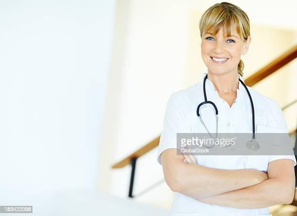 Attraktive Ärztin