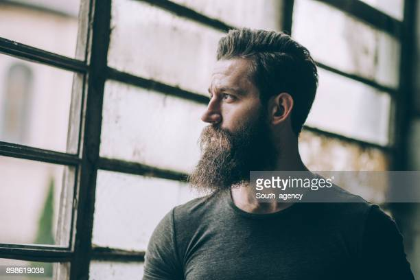 attractive handsome hipster man - serbia stock pictures, royalty-free photos & images