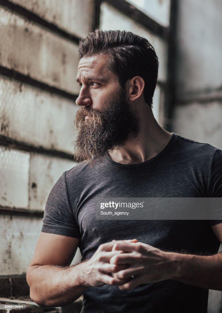 Attractive handsome man : Stock Photo