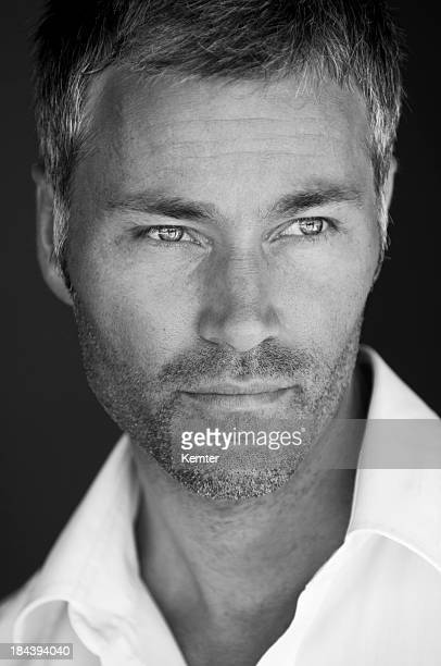attractive man portrait