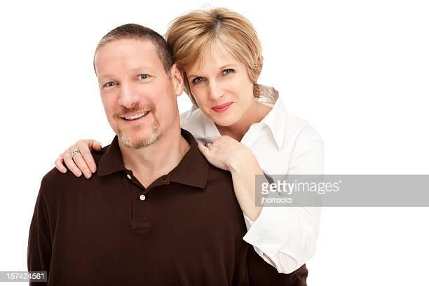 Atractiva pareja madura