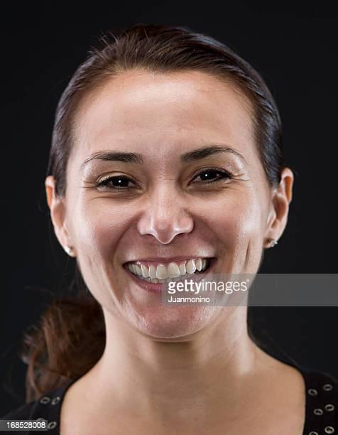 Belle femme hispanique mature