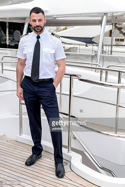 Attractive ship captain
