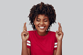 Attractive young African woman