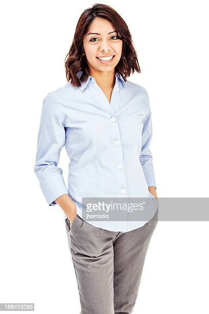 Attractive Young Hispanic Businesswoman