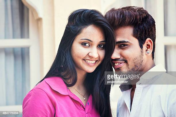 Attractive Young Indian Couple