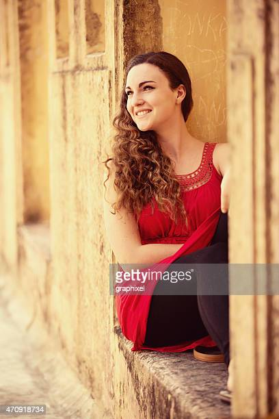 attractive young woman - graphixel stock pictures, royalty-free photos & images