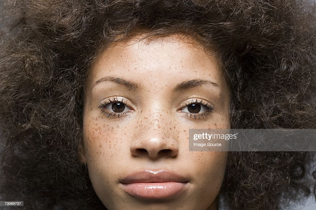 Attractive young woman : Stock Photo