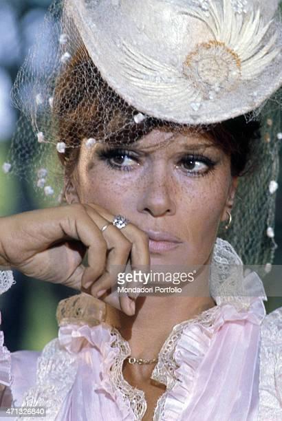Attrice italiana Lea Massari playing Anna Karenina in the Tv mini-series Anna Karenina. 1974