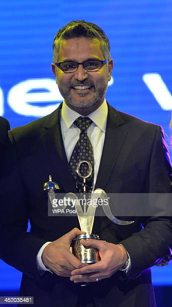 Atul Kochhar of award winning Benares attends the British curry awards at Battersea Evolution on November 25 2013 in London England The annual event...