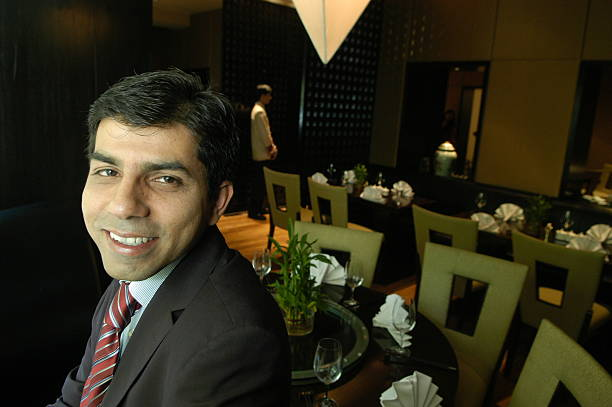 atul lall general manager of the claridges hotel inside a