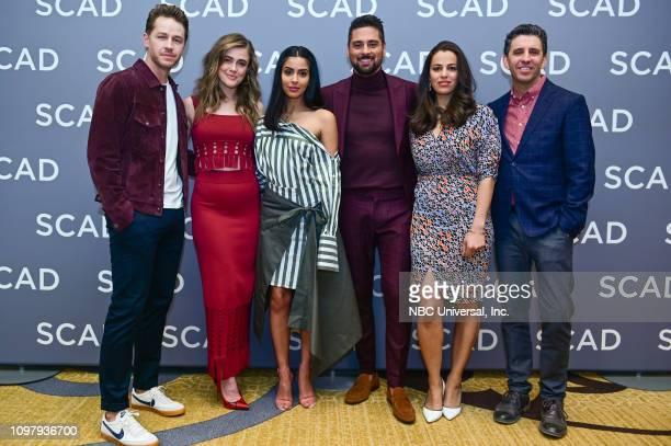EVENTS SCAD aTVfest February 9 2019 Pictured Josh Dallas Melissa Roxburgh Parveen Kaur JR Ramirez Athena Karkanis Jeff Rake Executive Producer...