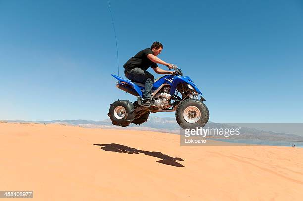 ATVing on the dunes