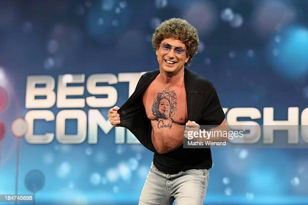 Atze Schroeder attends the 17th Annual of the German Comedy Awards at Coloneum on October 15 2013 in Cologne Germany