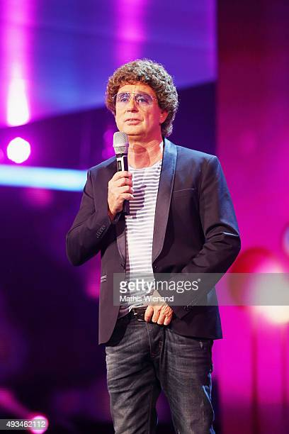 Atze Schroeder attends the 19th Annual German Comedy Awards at Coloneum on October 20 2015 in Cologne Germany