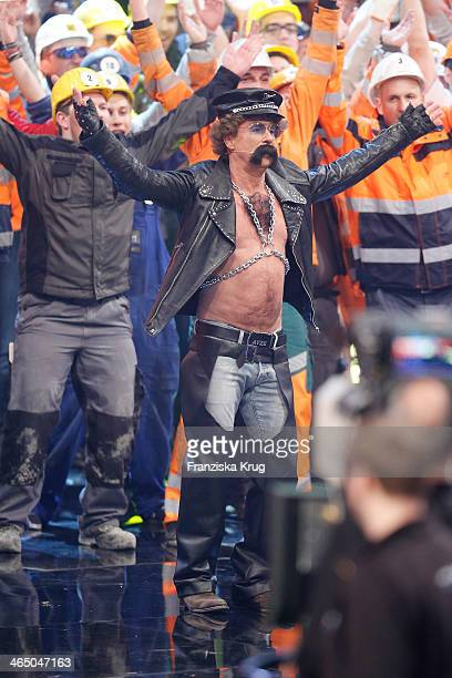 Atze Schroeder attends the 'Wetten dass' TV Show from Karlsruhe on January 25 2014 in Karlsruhe Germany