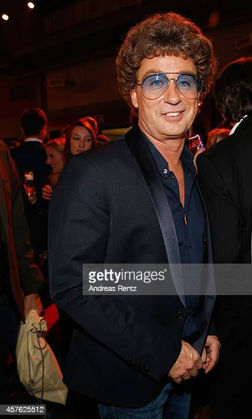 Atze Schroeder gestures during the 18th Annual German Comedy Awards at Coloneum on October 21 2014 in Cologne Germany The show will be aired on RTL...
