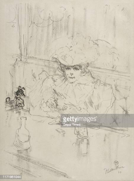 Au Hanneton 1898 Henri de ToulouseLautrec Lithograph