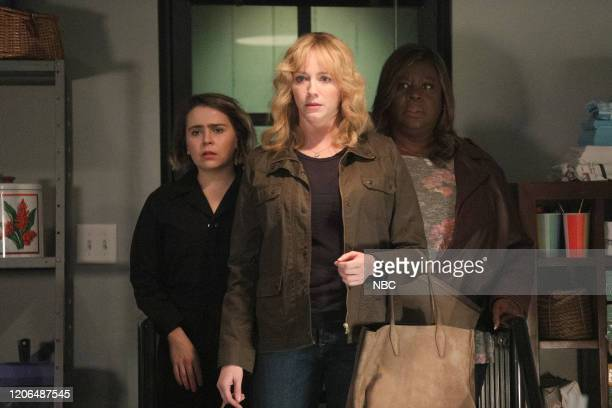 "Au Jus"" Episode 305 -- Pictured: Mae Whitman as Annie Marks, Christina Hendricks as Beth Boland, Retta as Ruby Hill --"