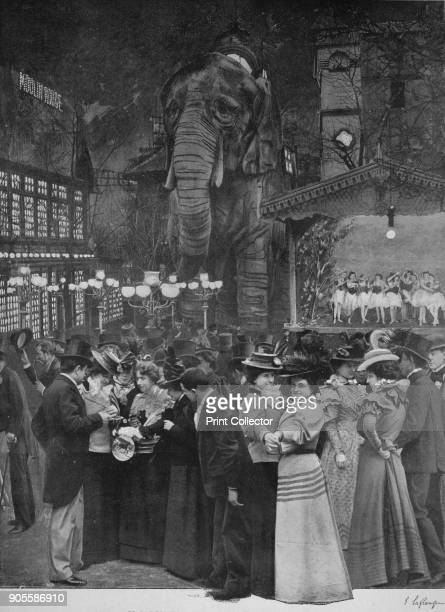 'Au Moulin Rouge Dans Le Jardin' 1900 Moulin Rouge is a cabaret in Paris France The original house which burned down in 1915 was cofounded in 1889 by...