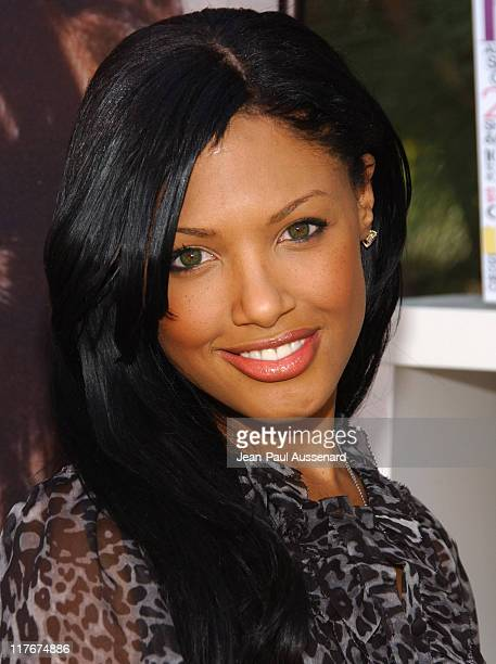KD Aubert during 2007 Silver Spoon Golden Globes Suite Day 2 in Los Angeles California United States Photo by JeanPaul Aussenard/WireImage for Silver...