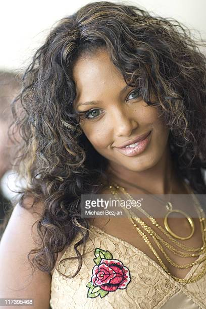 KD Aubert during 2007 Silver Spoon MTV Movie Awards Gifting Suite Day 1 in Los Angeles California United States Photo by Michael Bezjian/WireImage...