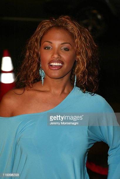 KD Aubert during Against the Ropes World Premiere at Graumann's Chinese Theatre in Hollywood California United States