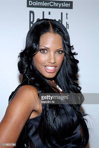 KD Aubert during DAIMLERCHRYSLER Celebrates Fifth Anniversary of BEHIND THE LENS Award at Beverly Hilton in Beverly Hills CA United States
