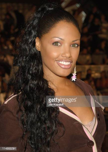 KD Aubert during Get Rich Or Die Tryin' Los Angeles Premiere Arrivals at Grauman's Chinese Theater in Hollywood California United States