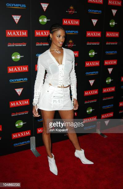 KD Aubert during Maxim Magazine's Annual Hot 100 Party at 1400 Ivar in Hollywood CA United States