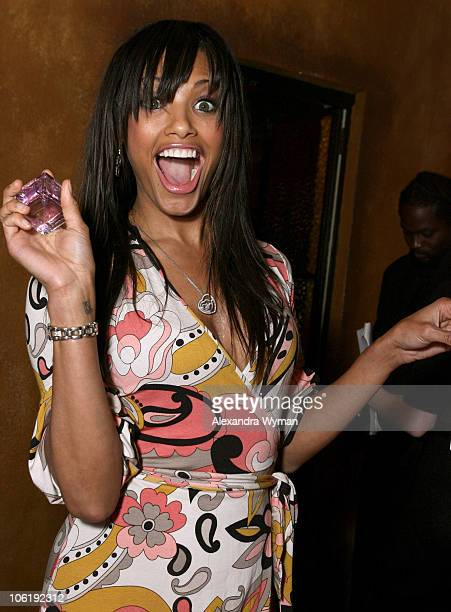 KD Aubert during Movieline's Hollywood Life 9th Annual Young Hollywood Awards Gift Lounge at Henry Fonda Theater in Los Angeles California United...