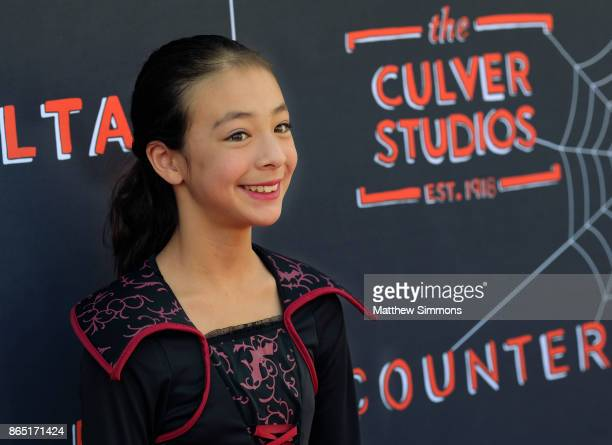 Aubrey AndersonEmmons at the GOOD Foundation's 2nd Annual Halloween Bash at Culver Studios on October 22 2017 in Culver City California