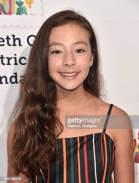 Aubrey AndersonEmmons attends the Elizabeth Glaser Pediatric Aids Foundation's 30th Anniversary A Time For Heroes Family Festival at Smashbox Studios...