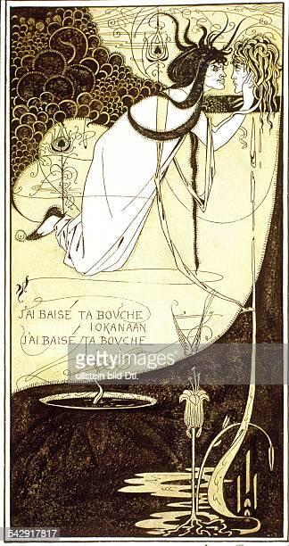 Aubrey Beardsley Aubrey Beardsley *18721898 Graphic artist Great Britain Salome with the head of John the Baptist 1883