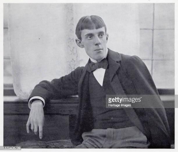Aubrey Beardsley, c1893. Portrait of British artist and eccentric Aubrey Beardsley , a leading figure in the aesthetic movement. Beardsley was...
