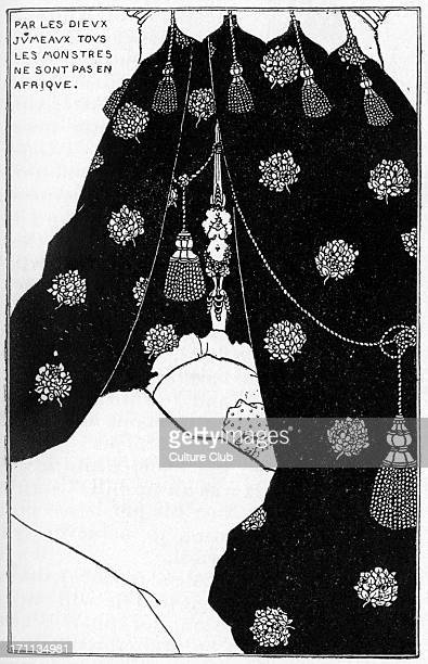 Aubrey Beardsley selfportrait of the English artist illustrator and author From 'The Yellow Book Vol III' 21 August 1872 16 March 1898