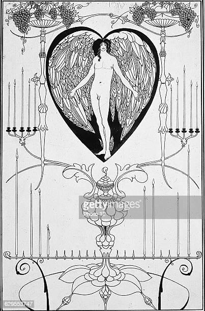 Aubrey BeardsleyEnglish schoolThe Mirror of LoveLithographLondon Victoria Albert Museum