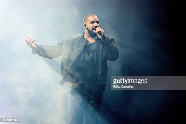 Aubrey Drake Graham aka Drake at Smoothie King Center on September 2 2016 in New Orleans Louisiana