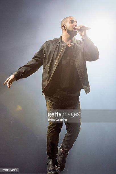 Aubrey Drake Graham aka Drake at Smoothie King Center on September 2 2016 in New Orleans Louisiana