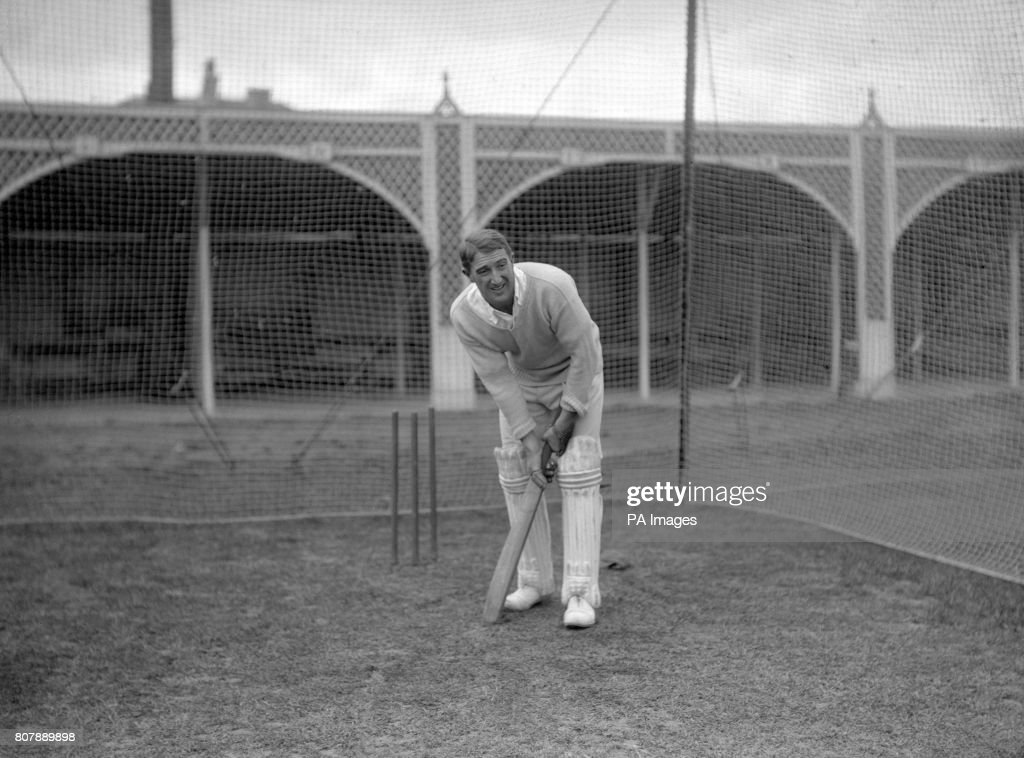 Cricket - South Africa in British Isles - South Africa Nets - Lord's : Fotografía de noticias